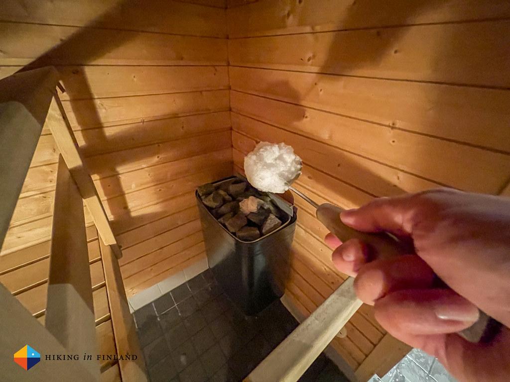 Sauna at Lapland Hotels Riekonlinna