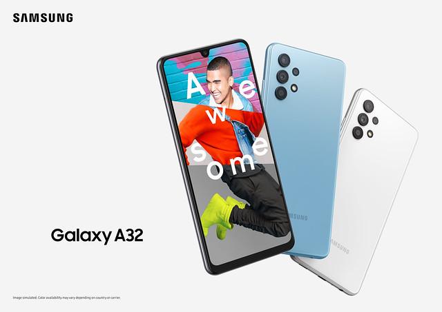 Galaxy A32_Key visual