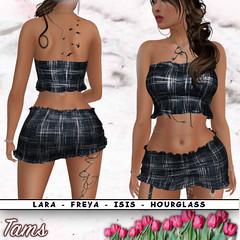 Top and Skirt - Lillian