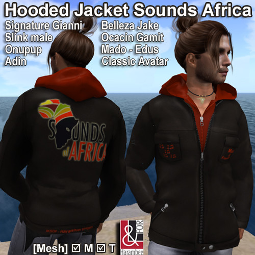 Hooded Jacket Sounds Africa