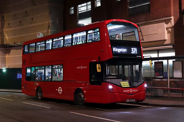 Route 371, London United, VH45156, LJ65FZN