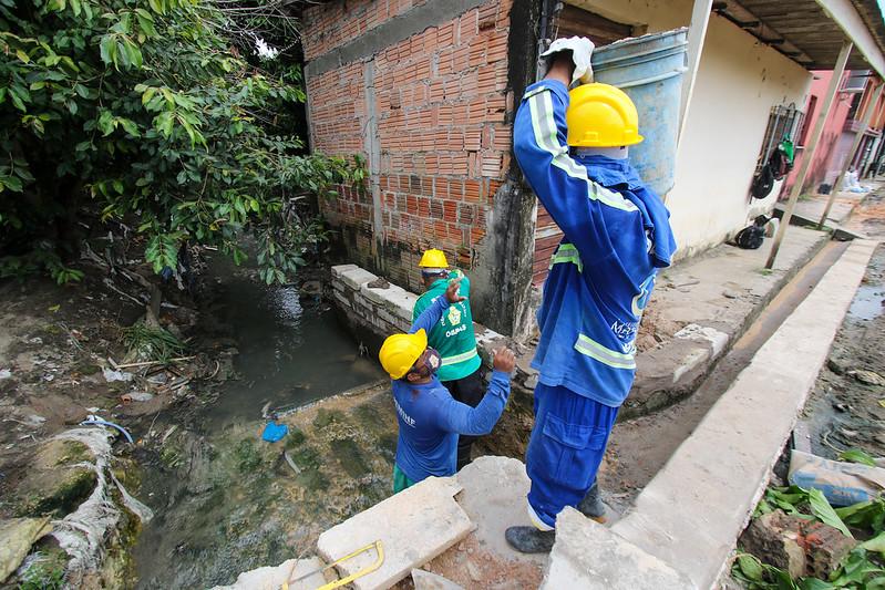 18.03.21 - Obras emergenciais da Prefeitura no Nova Esperança entram em sua fase final