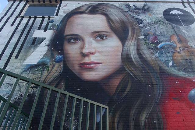 The Hague StreetART/Netfix- mural.
