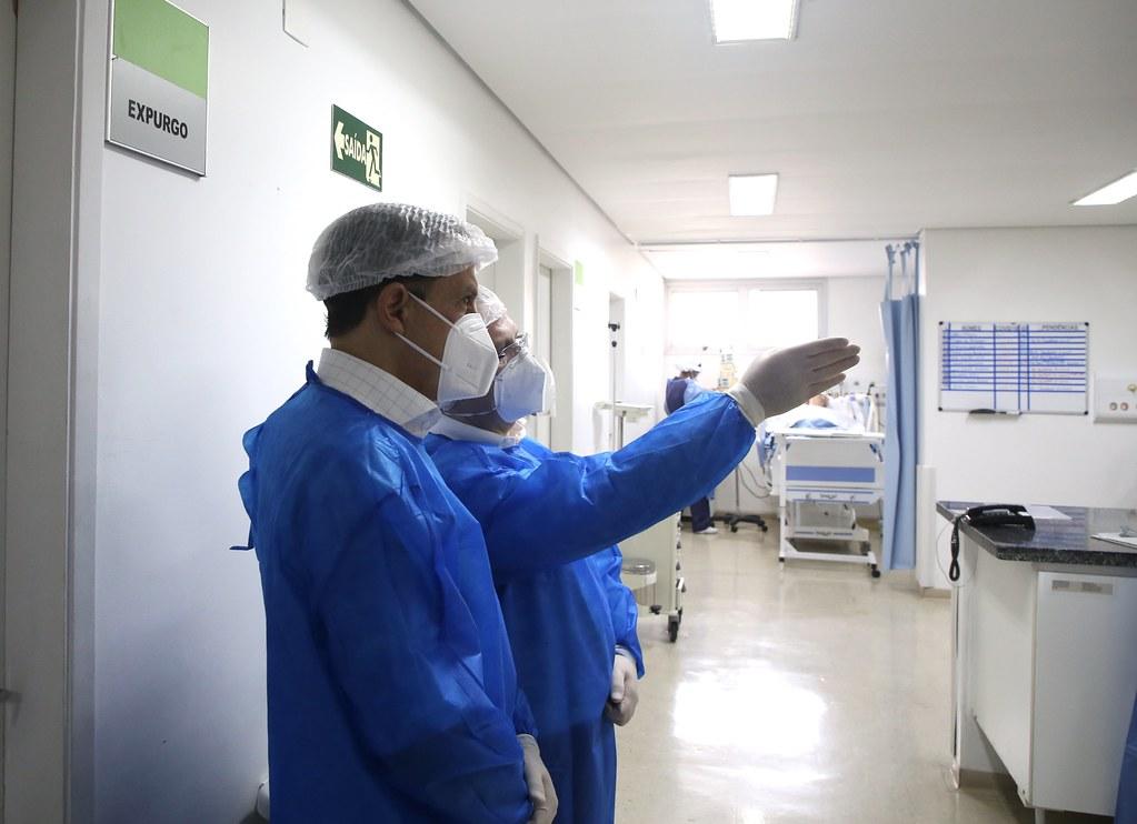 Visita ao Hospital de Campanha de COVID-19 na Zona Norte