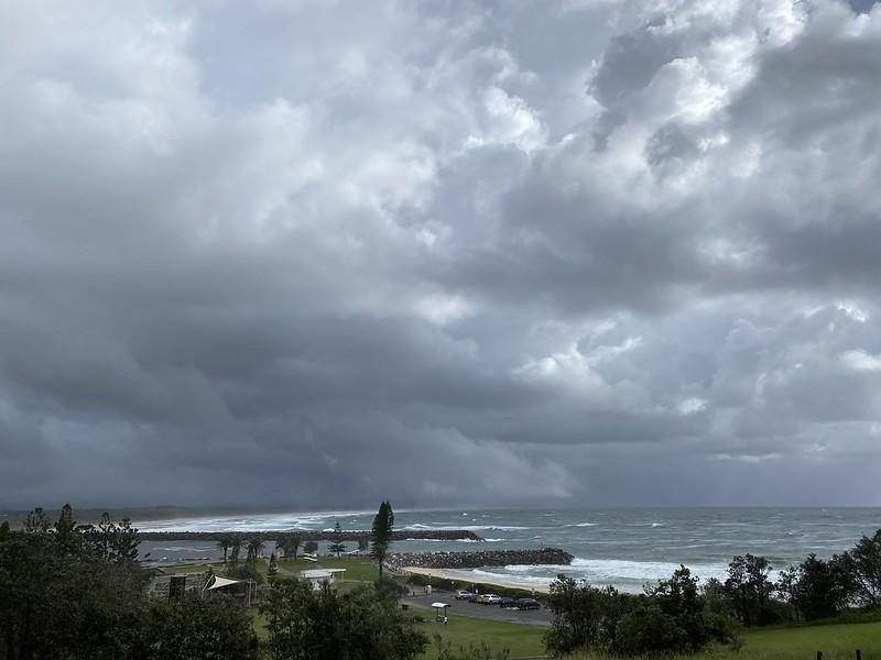 Storm over Port Macquarie
