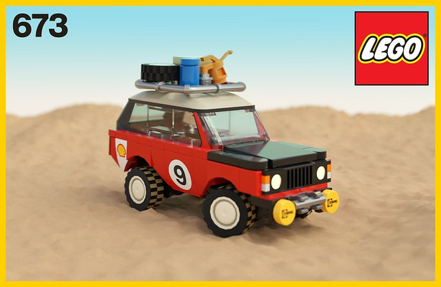 673 Rally Range Rover