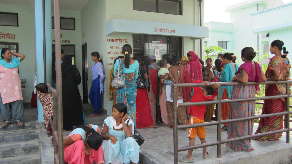 Women outside an abortion clinic and was provided by Mahesh (Dr Mahesh Puri).
