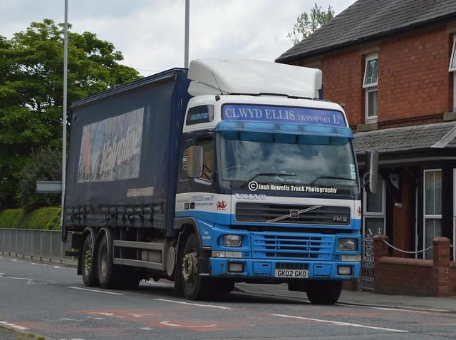 Clwyd Ellis GK02 GKO At Llanfair Caereinion
