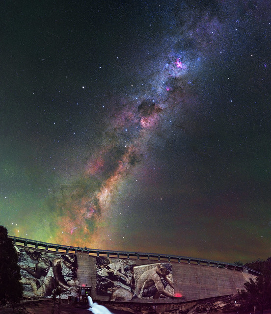 Milky Way at Wellington Dam, Western Australia
