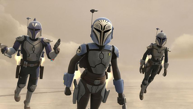 Bo-Katan Kryze - Clone Wars, Rebels 02