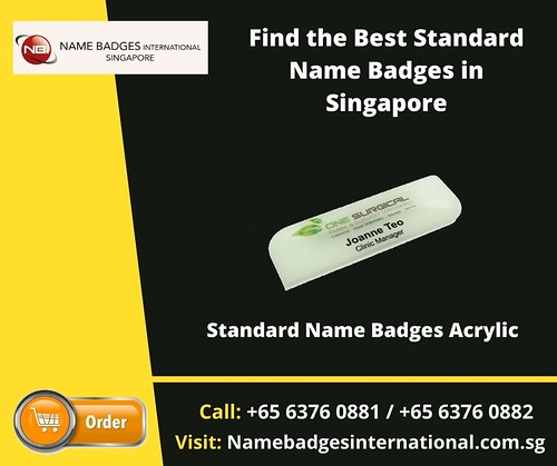 Find the Best Standard Name Badges in Singapore