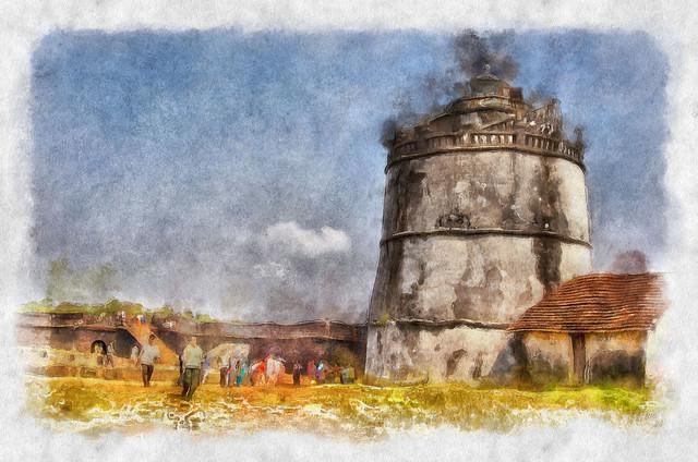 a fortress in Goa