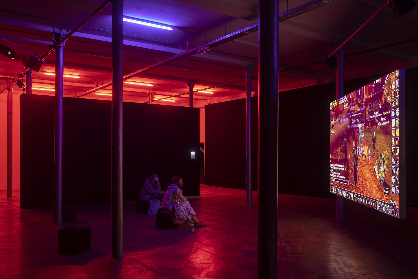 Angela Washko - Point of View (installation shots)