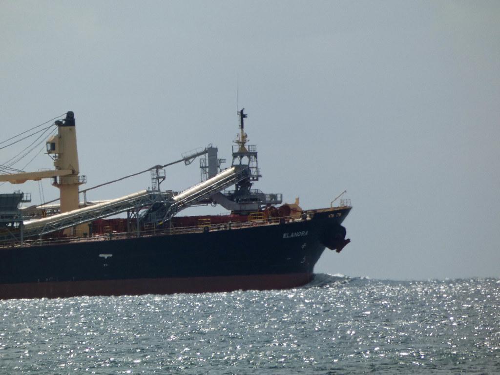 20210314_0276 bow of the ELANORA  (Self Discharging Bulk Carrier)