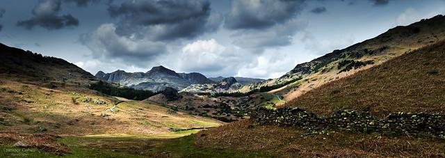 The wonder of distant peaks.