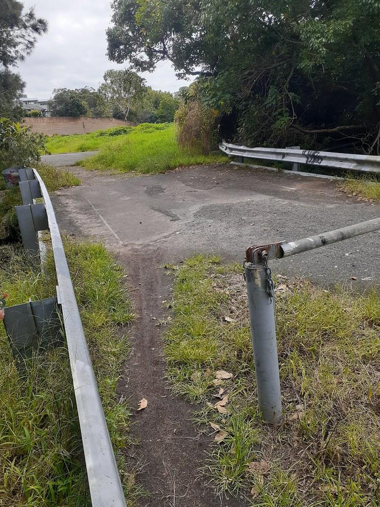 Abandoned bridge, Balgowlah NSW