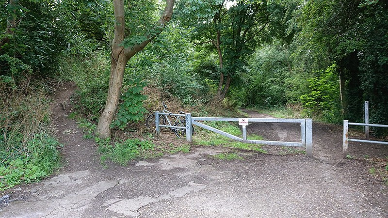 Gleadless Valley Gallop start and finish point
