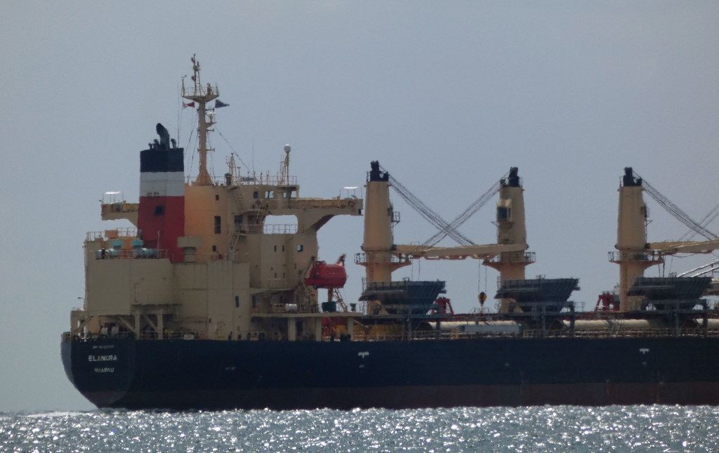 20210314_0281 stern view of the ELANORA  (Self Discharging Bulk Carrier)