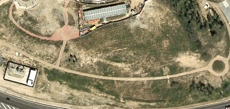 pista BMX Arganzuela, legazpi, madrid, esta no la financió Carmena, antes, urbanismo, planeamiento, urbano, desastre, urbanístico, construcción