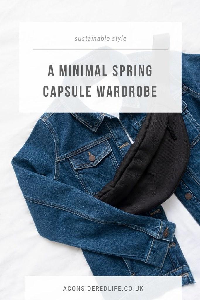 A Spring Capsule Wardrobe