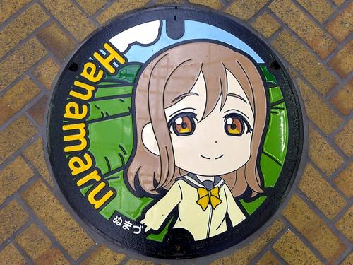 Numazu Shizuoka, manhole cover 7 (静岡県沼津市のマンホール7)