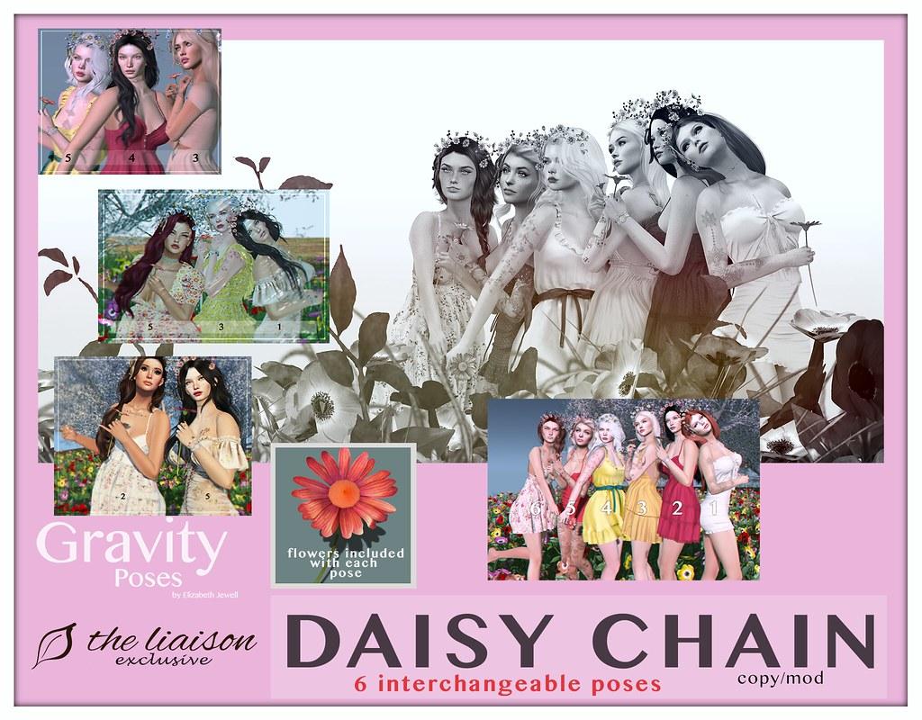 Gravity Poses – Daisy Chain