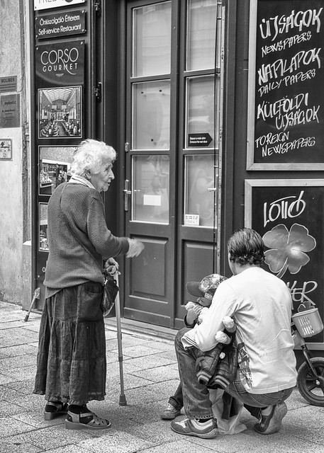 Old and young people @ Budapest