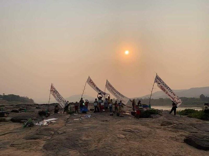 Mekong, Thai-Lao border in Chiang Khong, Thailand 8