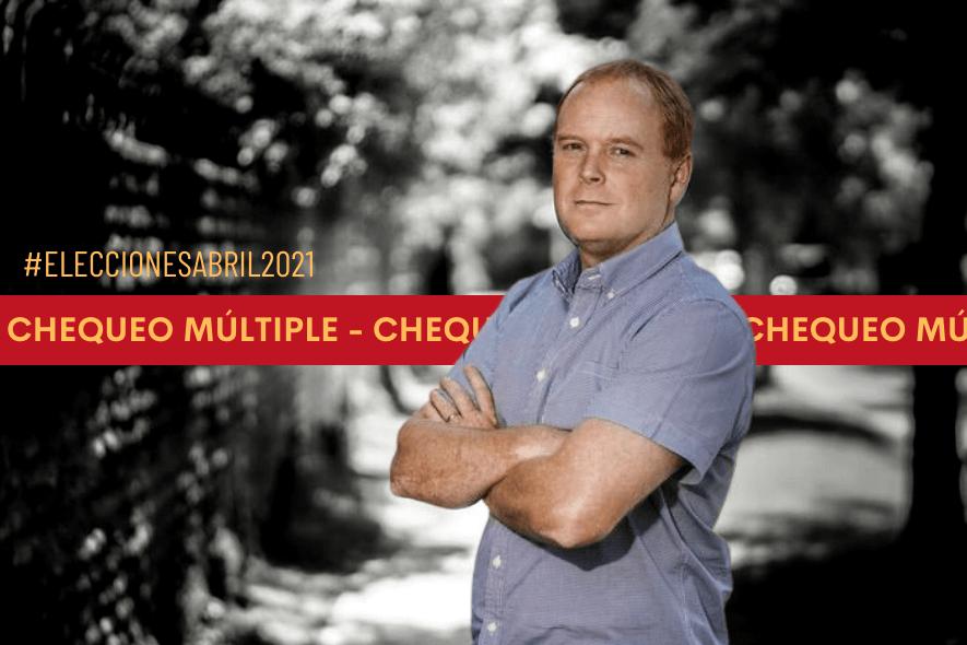 Chequeo Múltiple: Propuestas del candidato a gobernador regional por la RM, Rojo Edwards