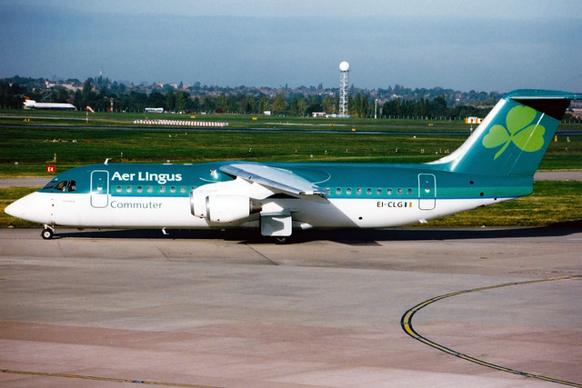 Aer Lingus | British Aerospace BAe146-300 | EI-CLG | Birmingham International