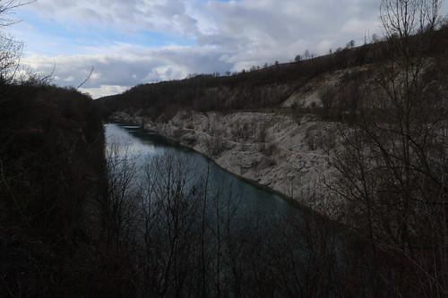 """Ausblick auf den Blaue Lagune Canyon von der Aussicht """"Canyon Blick"""""""