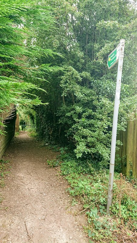 Charnock Chase Start and finish point