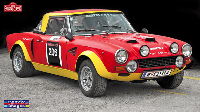 Fiat Abarth 124 Rally • This work is a copyrighted protected image (c) Bernard Egger :: rumoto images All Rights Reserved 2196 II