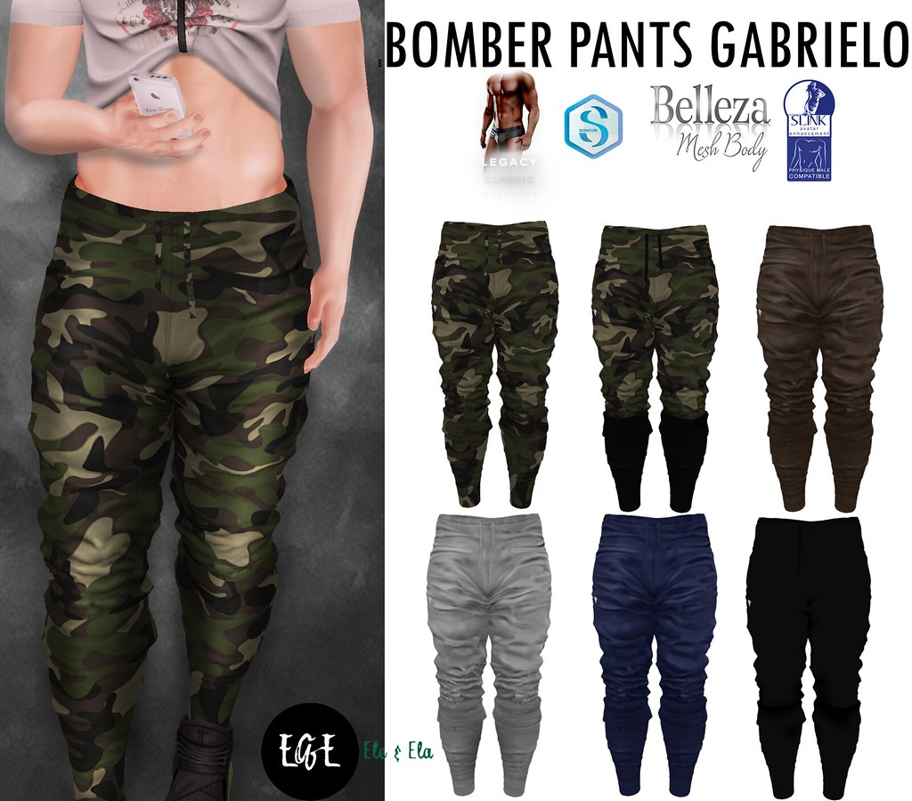 Ad Bomber Pants Gabrielo