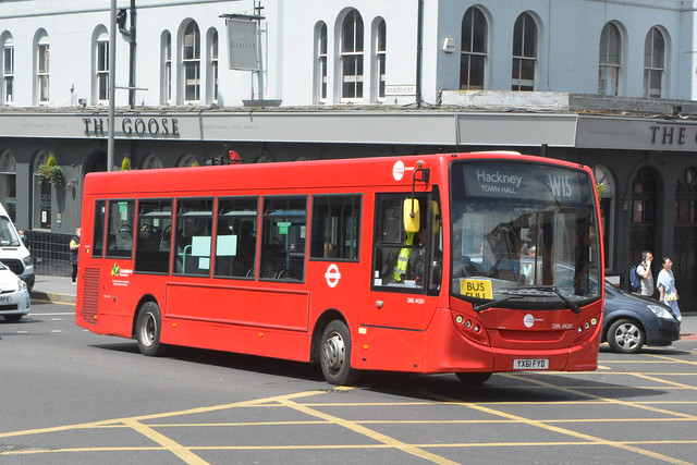 YX61 FYD (DML44281) Tower Transit