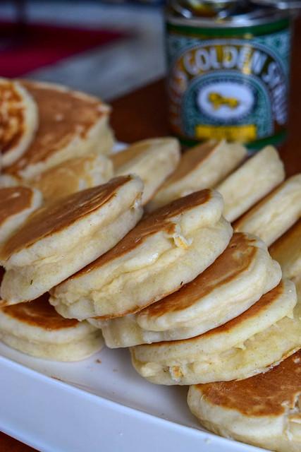 Pancakes au lait fermenté (buttermilk pancakes) 1