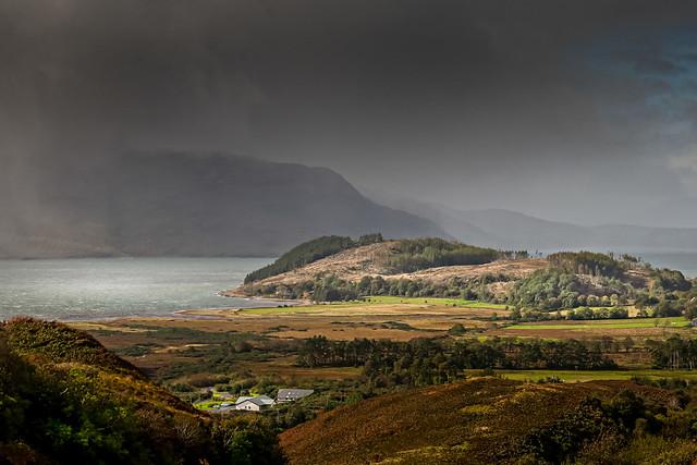Quelque part dans l'île de Skye