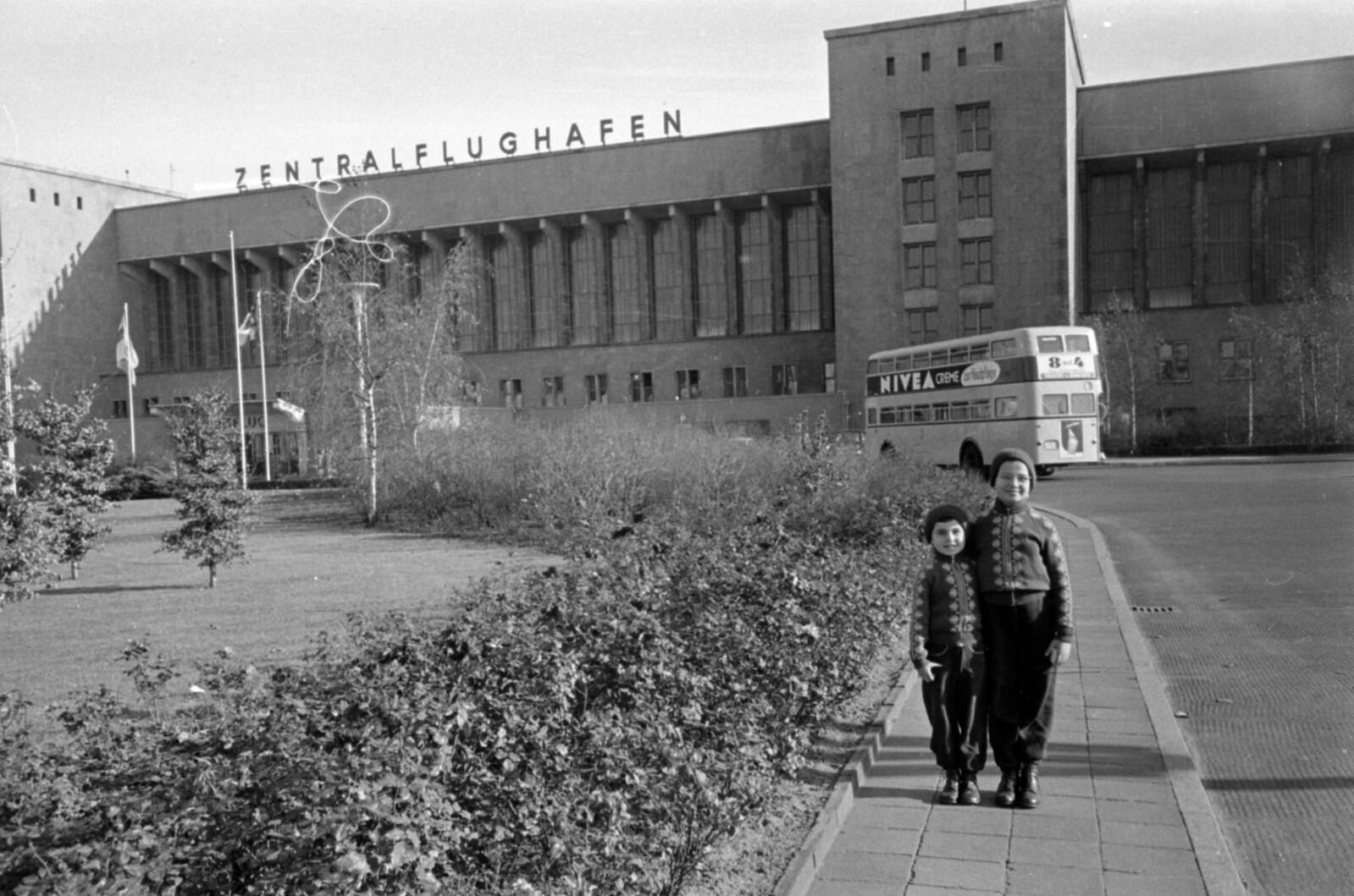 08. 1957. Западный Берлин. Темпельхоф, Центральный аэропорт