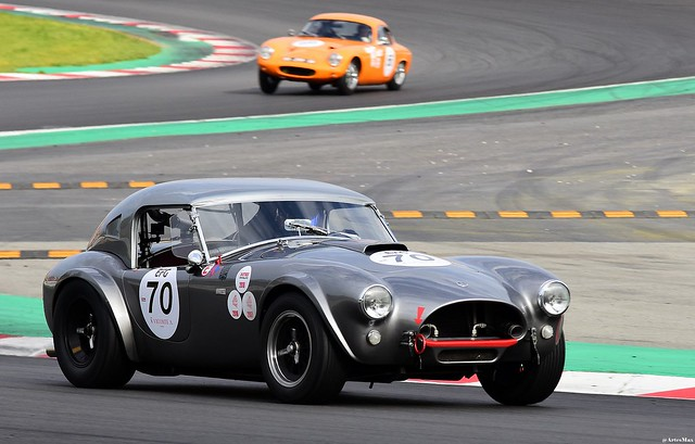 SHELBY Cobra 289 1963 / Pierre-Alain FRANCE / FRA / Erwin FRANCE / FRA