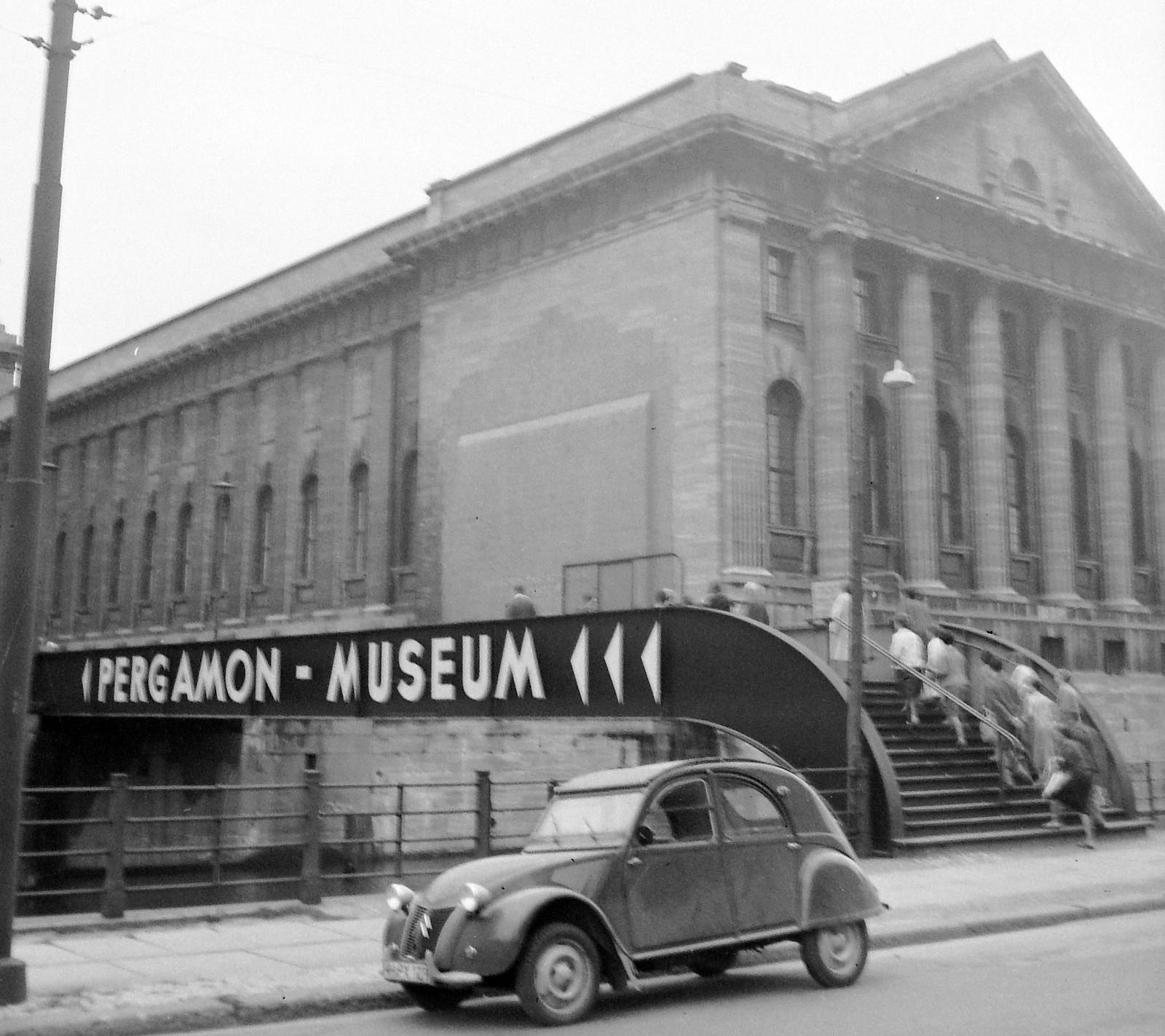 03. 1956. Восточный Берлин. Музейный остров, Пергамский музей
