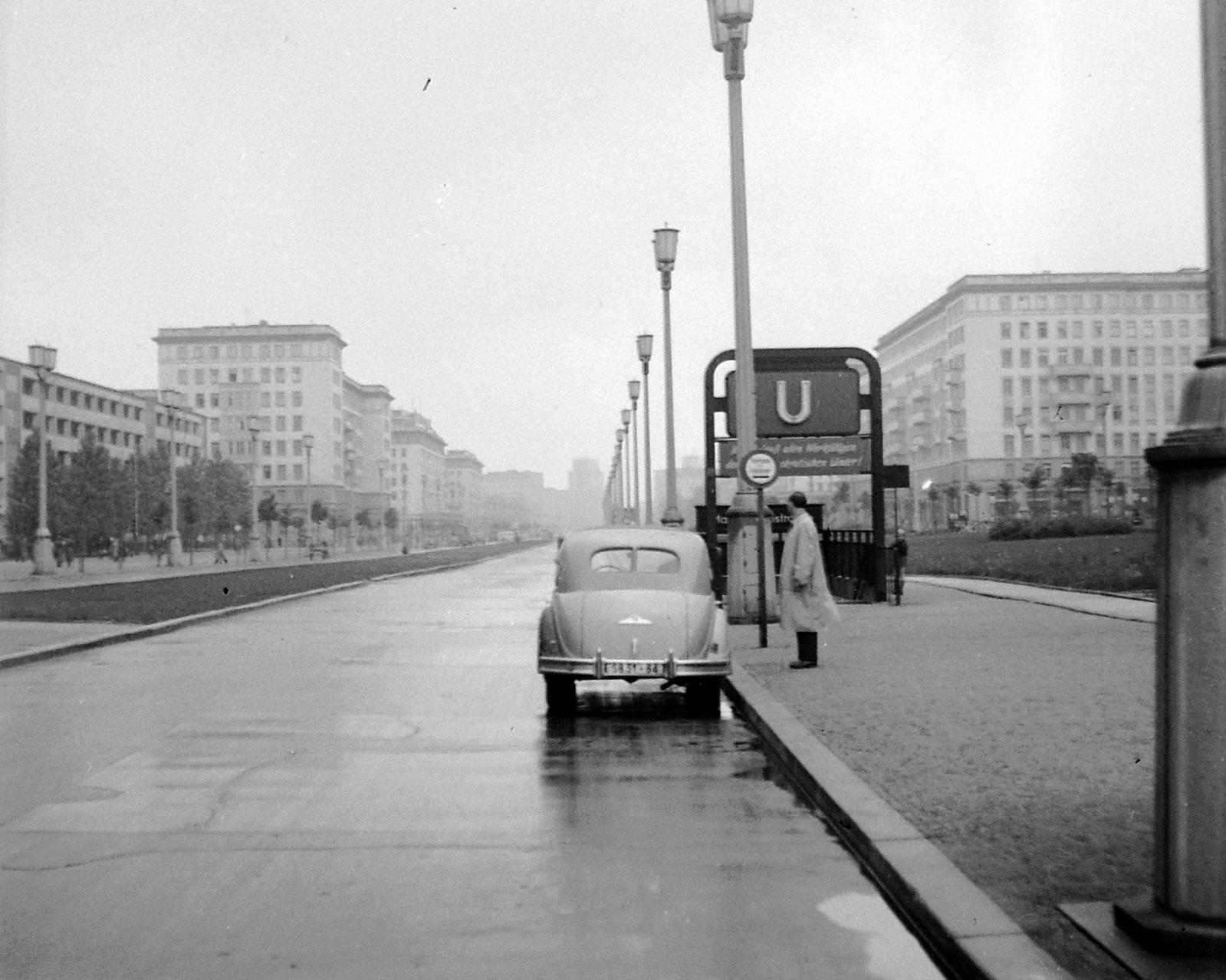 02. 1956. Восточный Берлин. Сталин-аллее