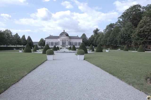 In the Baroque Garden.