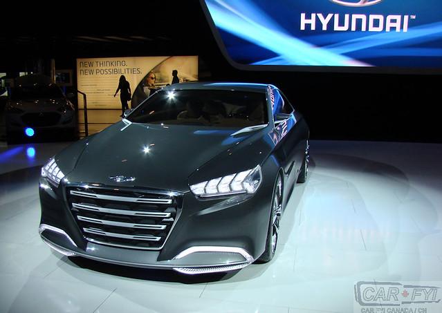 Hyundai HCD-14 Genesis Concept at 2013 CIAS