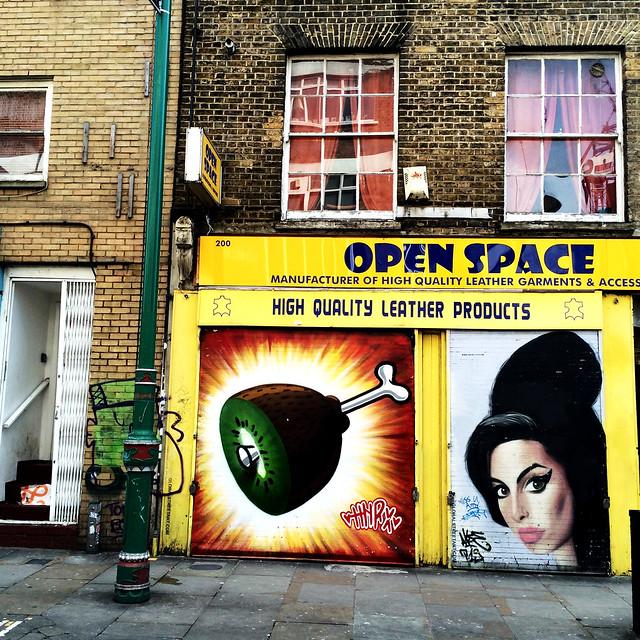 Brick Lane - Street Art.