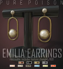 Pure Poison - Emilia Earrings - Kustom9