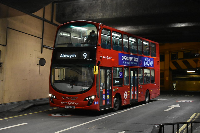 London United (VH45112) - Route 9