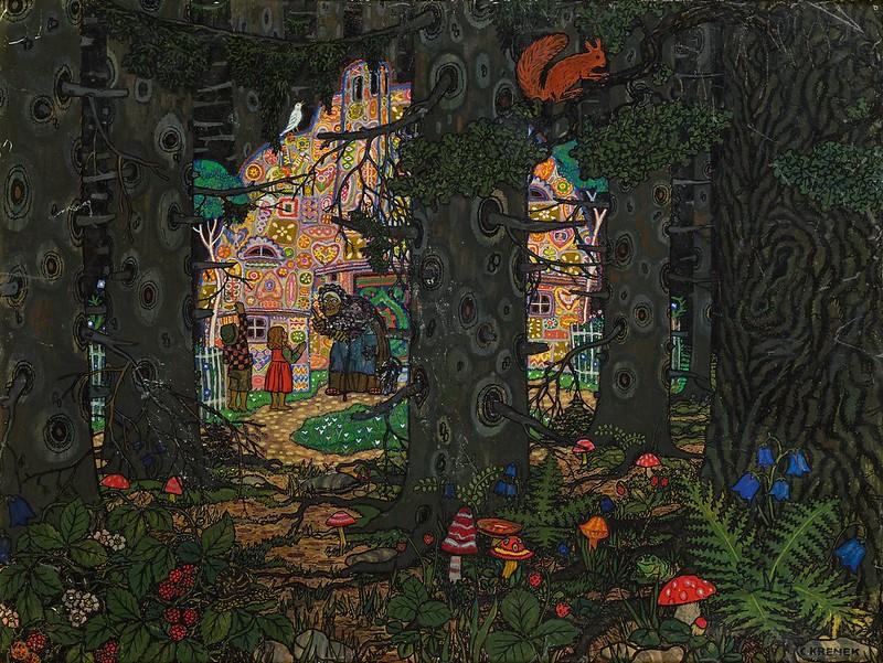 Carl Krenek - Hansel and Gretel, 1913