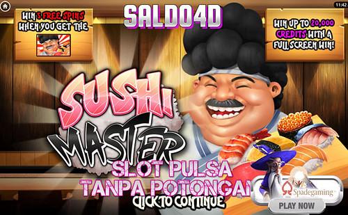 Judi Slot Sushi Master Top Trend Gaming SALDO4D
