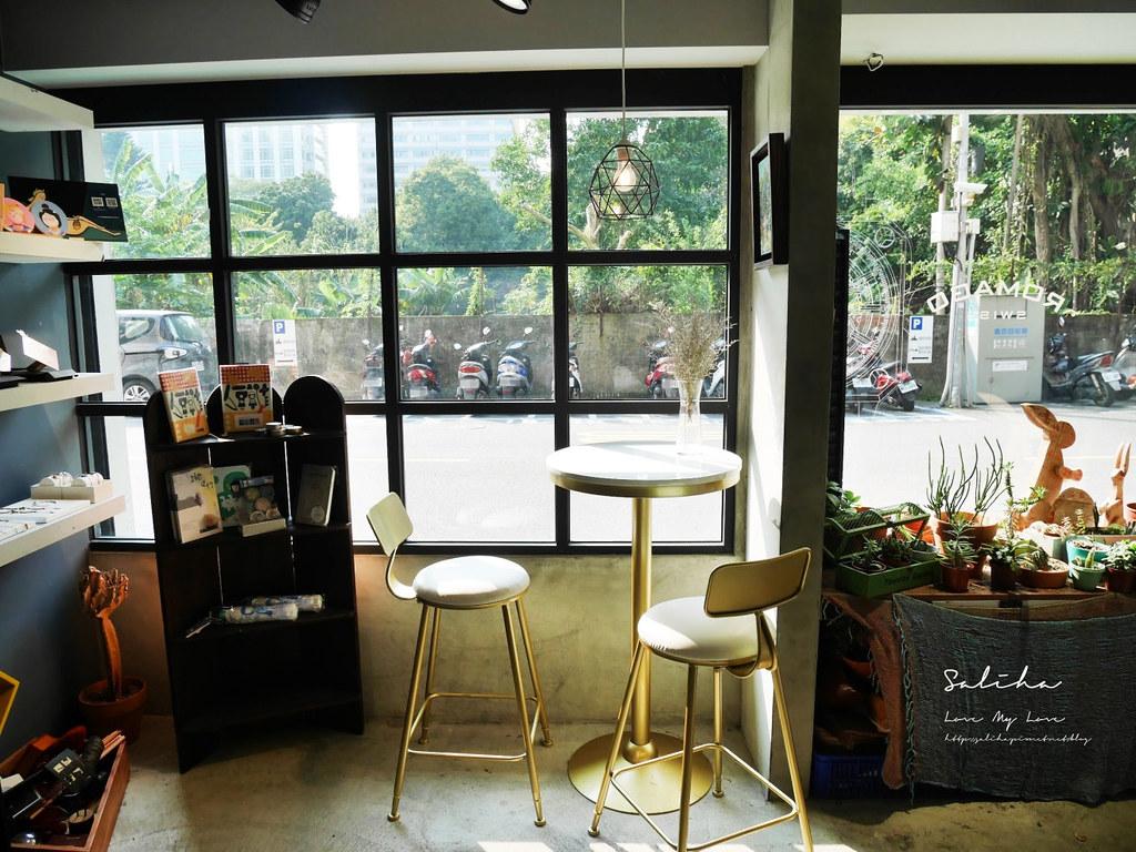 台北大安區咖啡廳推薦草泥Cafe可久坐咖啡廳下午茶六張犁餐廳美食有包廂 (3)