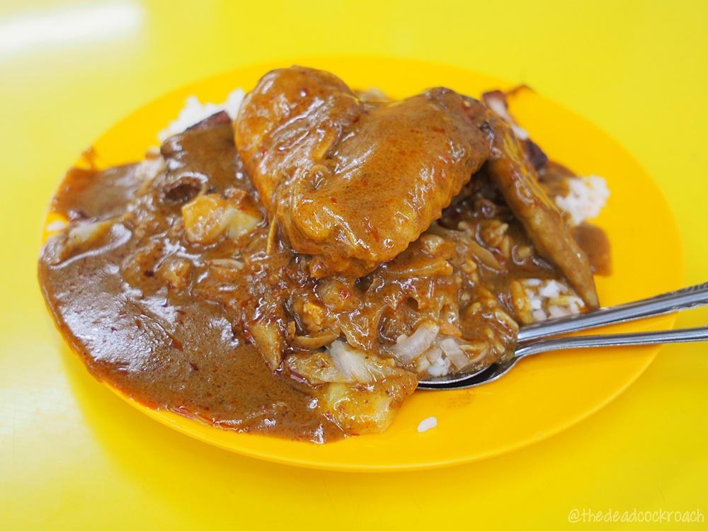 十一指剪刀剪咖喱饭,blk 269b queen street,singapore,food review,food,review,bugis,hainanese curry rice,curry rice,eleven fingers (eu kee) scissors curry rice,
